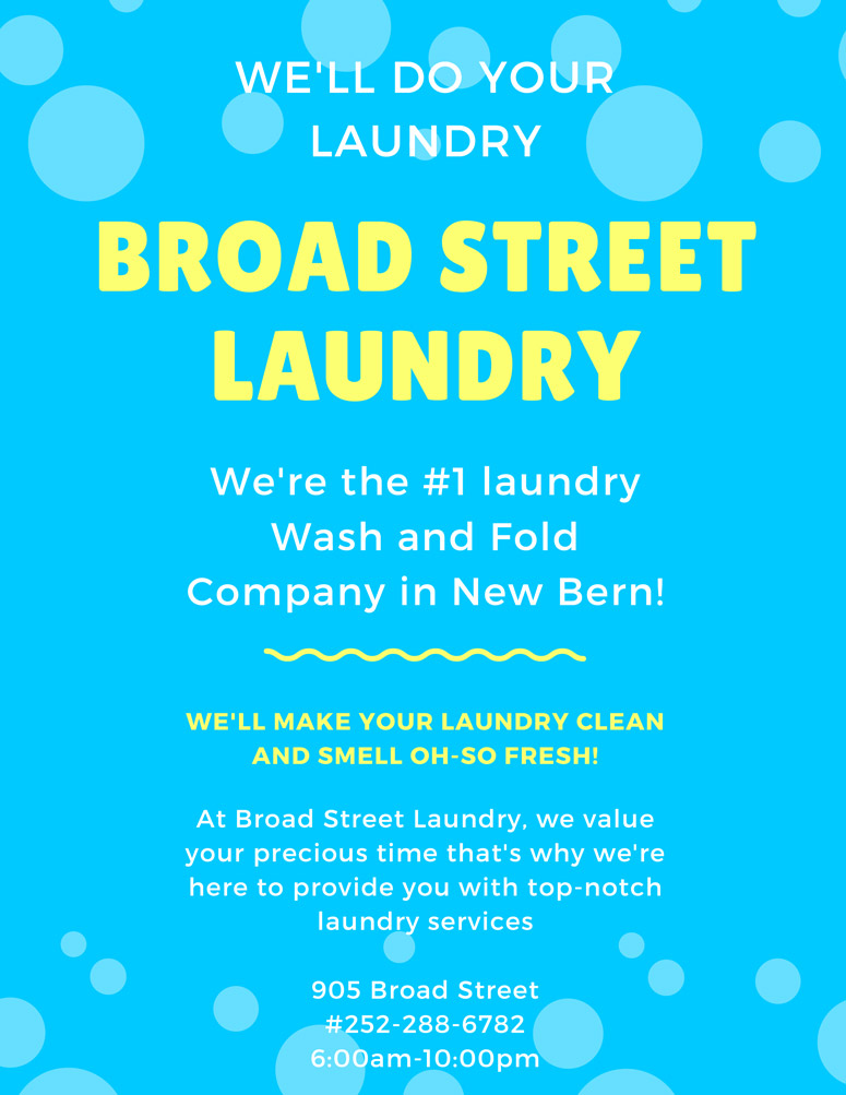 Broad Street Laundry Poster 2